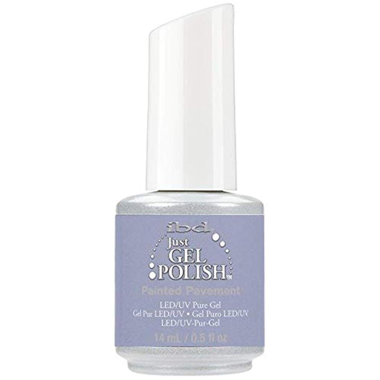 不健全噴出する最も遠いibd Just Gel Nail Polish - Painted Pavement - 14ml / 0.5oz