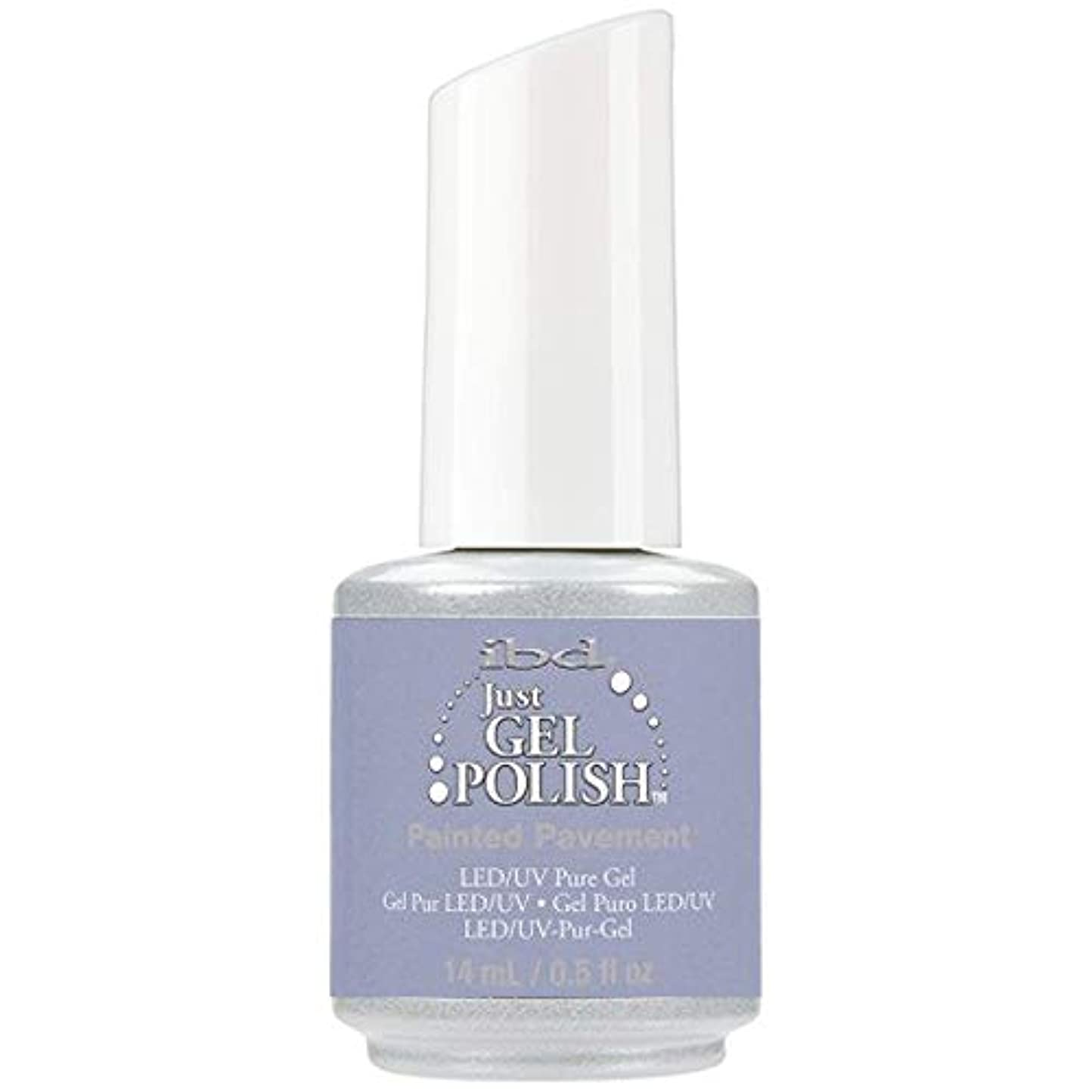 分数怠敬意ibd Just Gel Nail Polish - Painted Pavement - 14ml / 0.5oz