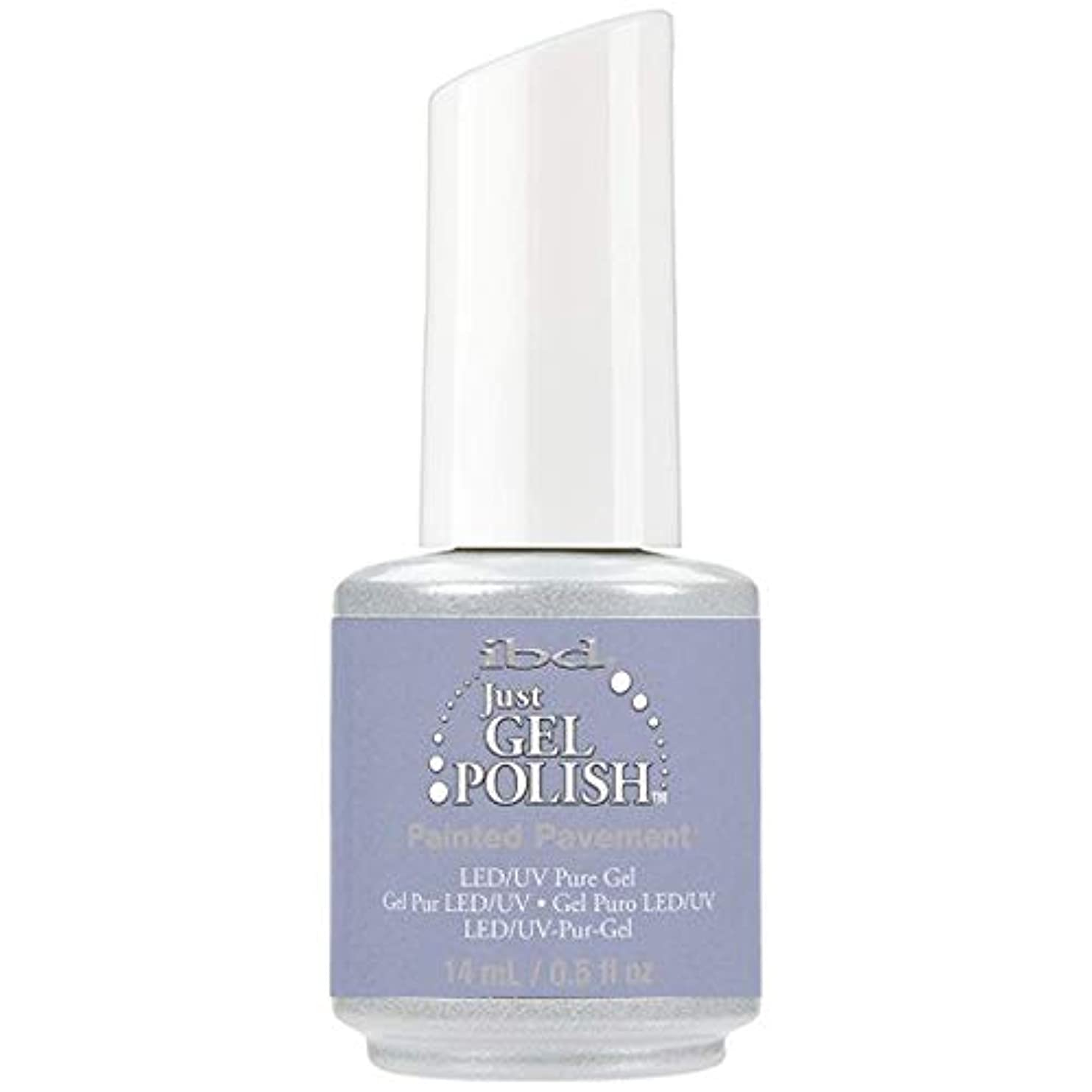 実装する言及するブランド名ibd Just Gel Nail Polish - Painted Pavement - 14ml / 0.5oz