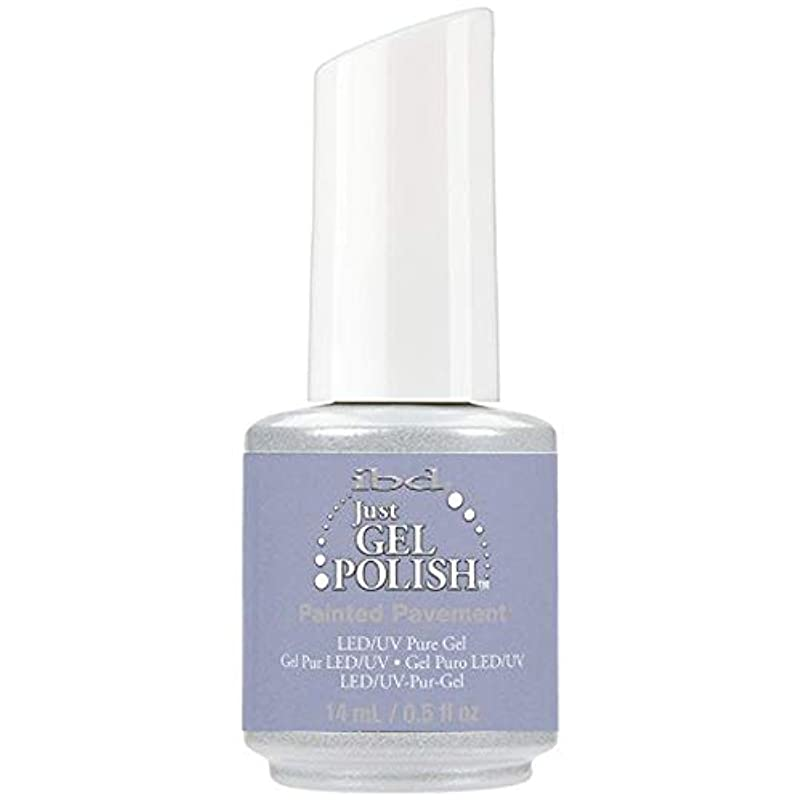リード動機付けるスーダンibd Just Gel Nail Polish - Painted Pavement - 14ml / 0.5oz