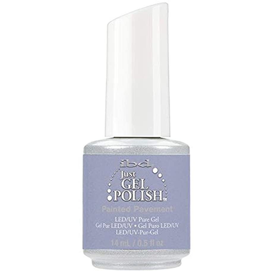 蒸発段階袋ibd Just Gel Nail Polish - Painted Pavement - 14ml / 0.5oz