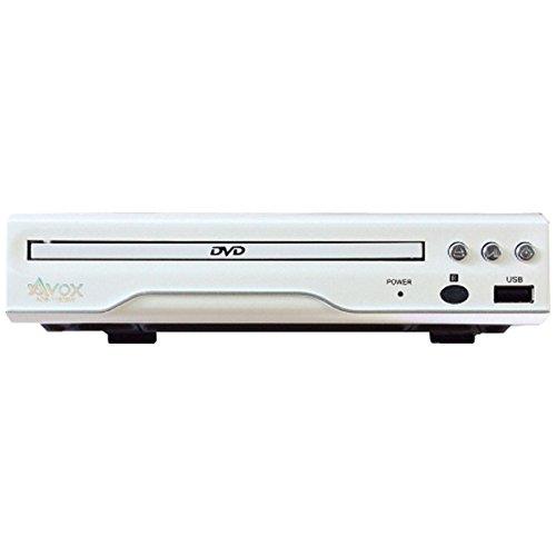 AVOX DVDプレーヤー(CPRM対応) ADS-1180SW ホワイト【再生専用】