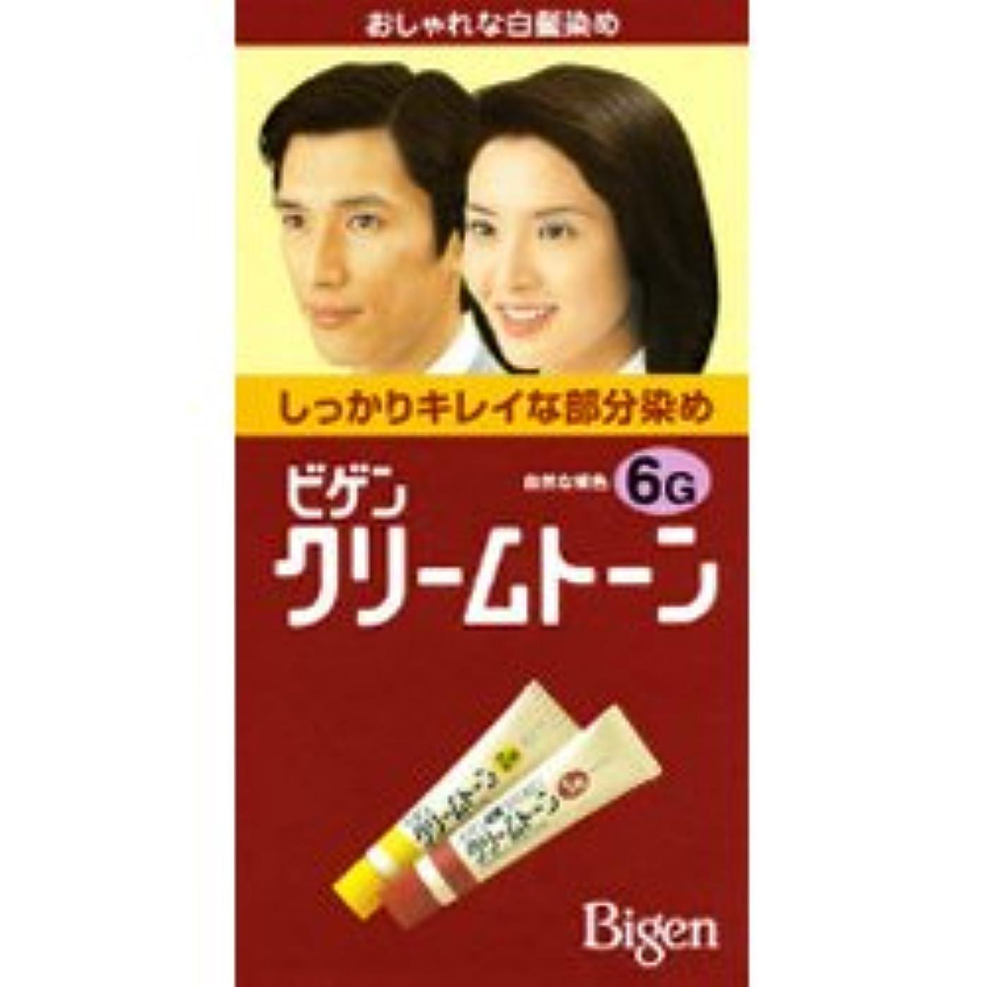 戸惑う追記富ビゲンクリームトーン 6G 自然な褐色(40g+40g)