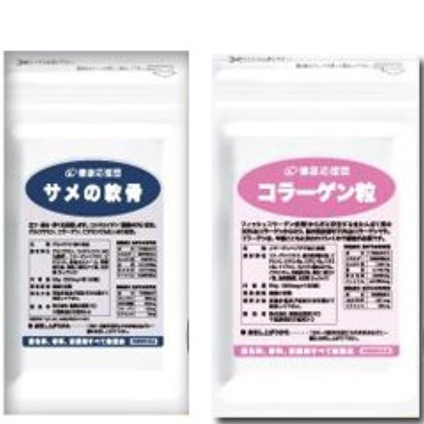 有名な政策作者(お徳用6か月分セット)コンドロイチン+コラーゲン 6袋&6袋セット