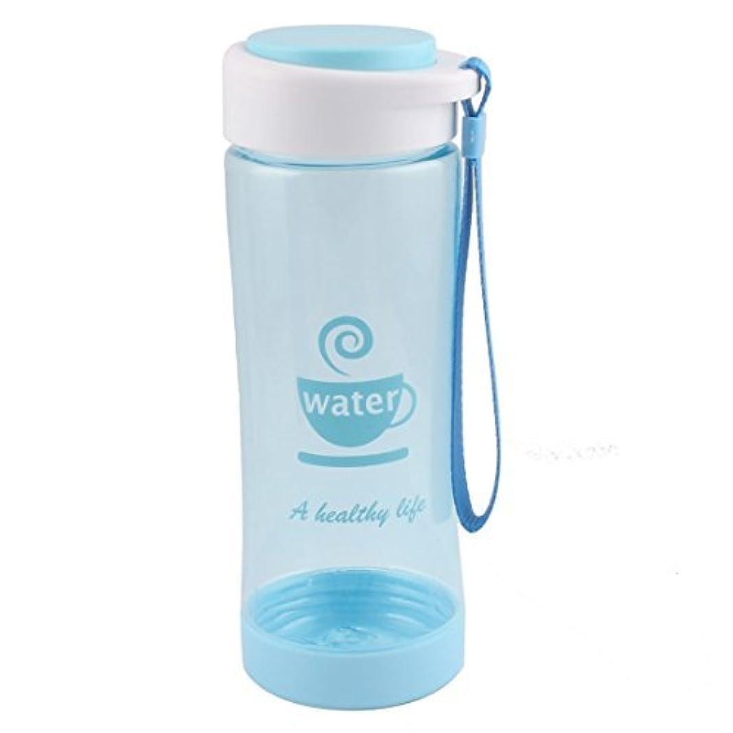 幅公平な既にDealMuxプラスチックホームティーミルクストレーナースポーツ飲料水ボトルカップマグ500ミリリットルシアン