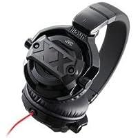 JVC HA-XM30X XXシリーズ 密閉型ヘッドホン DJユースモデル ブラック&レッド
