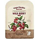 Skinfood ベジガーデンマスクシート#ラズベリー* 10ea / Vege Garden Mask Sheet#raspberry *10ea 20ml*10 [並行輸入品]