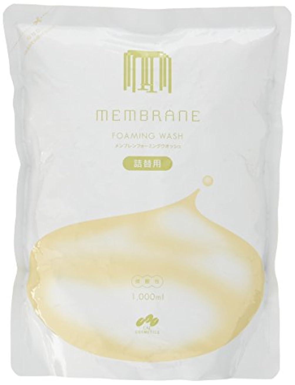 結晶キャンバスソーダ水CAC メンブレン フォーミングウオッシュ詰替用1Lパウチ