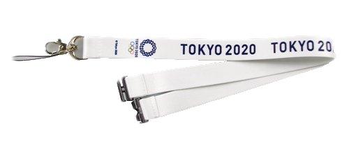 東京 2020 オリンピック 組市松紋 エンブレム ストラッ...