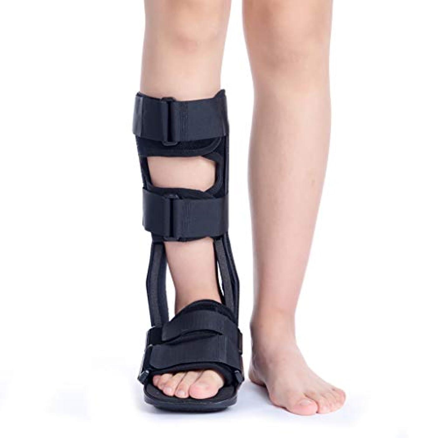 出発ビジュアル汚染する足の骨折の回復、保護および足や足首のけがの後の癒しのための短い壊れたつま先ブーツ、医療整形外科ウォーカーブーツ