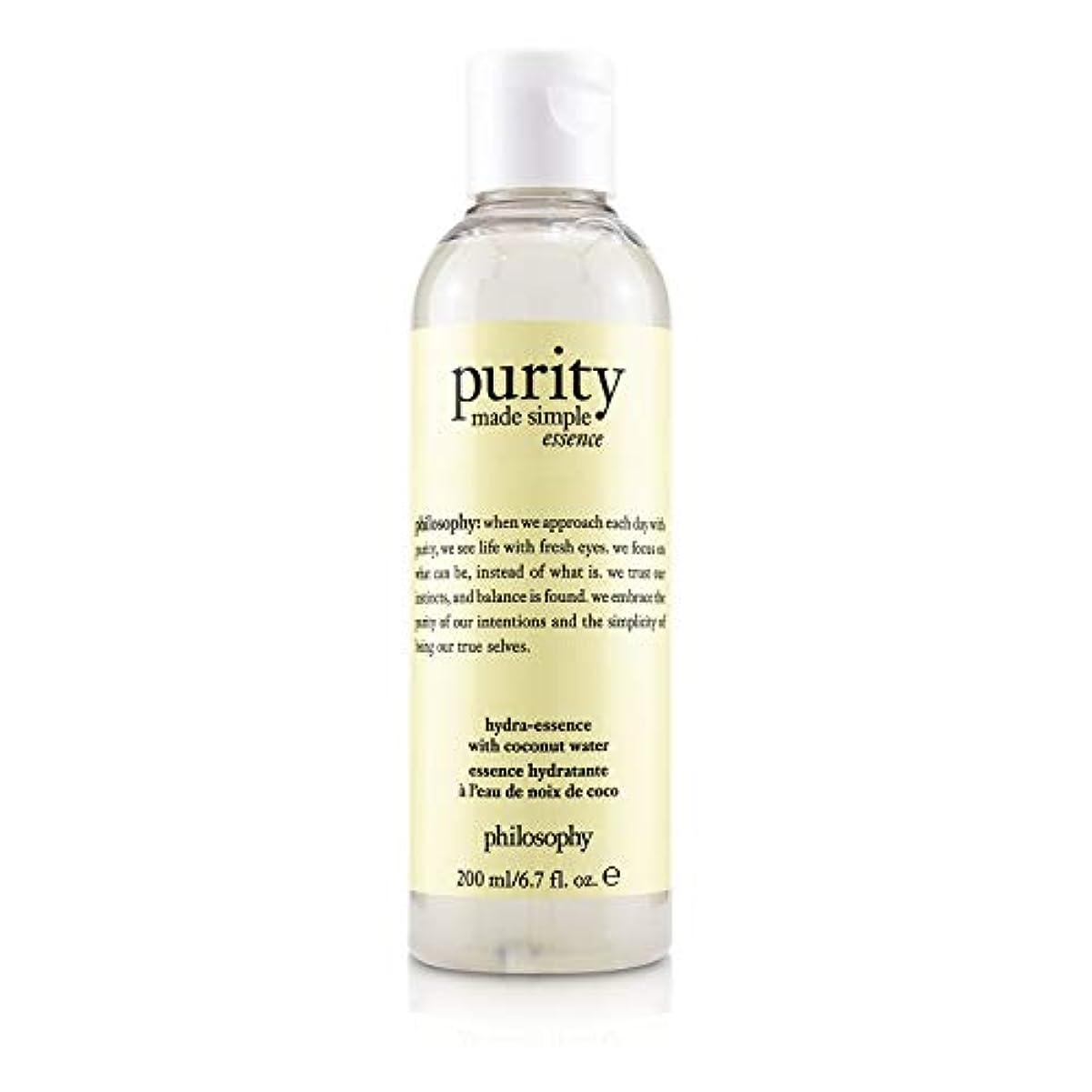 同性愛者労働義務づけるフィロソフィー Purity Made Simple Hydra-Essence With Coconut Water 200ml/6.7oz並行輸入品