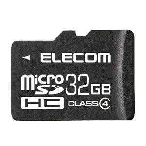 エレコム microSDHCメモリーカード 32GB IPX...