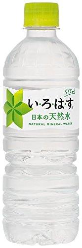 コカ・コーラ い・ろ・は・す 天然水 ペットボトル 555ml...