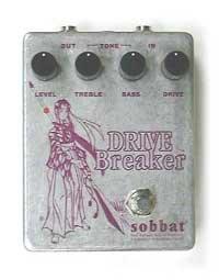 sobbat ソバット エフェクター ディストーション DRIVE Breaker 1 SB-DB1