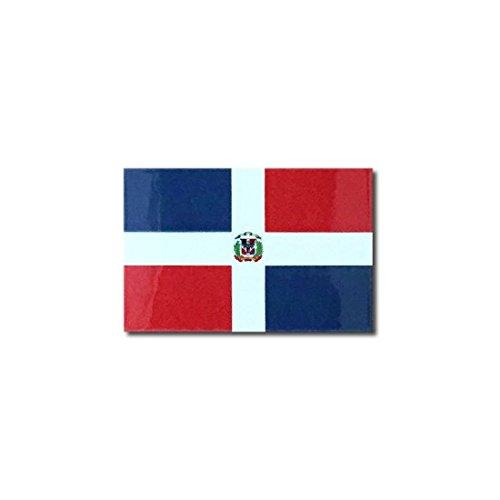 ドミニカ共和国 国旗 ステッカー 2S ( スーツケース ・ 車 に・・・