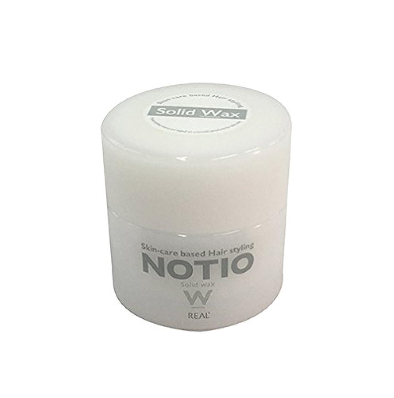 鎮静剤エンコミウム任命するノティオ ソリッド ワックス(ヘアスタイリング?ハンドクリーム)45g