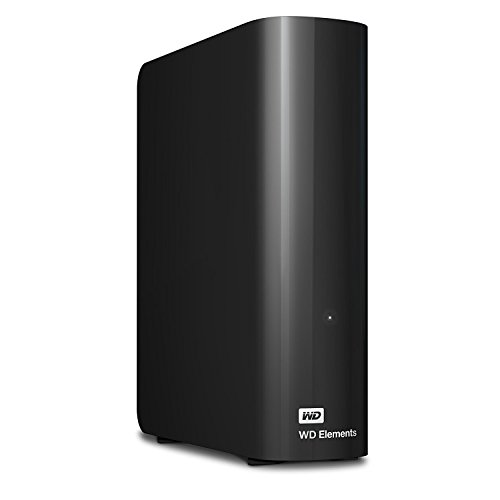 WD HDD 外付けハードディスク 4TB Elements Desktop USB3.0 WDBBKG0040HBK-JESN / 2年保証