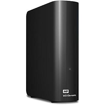 WD HDD 外付けハードディスク 6TB Elements Desktop USB3.0 WDBBKG0060HBK-JESN / 2年保証