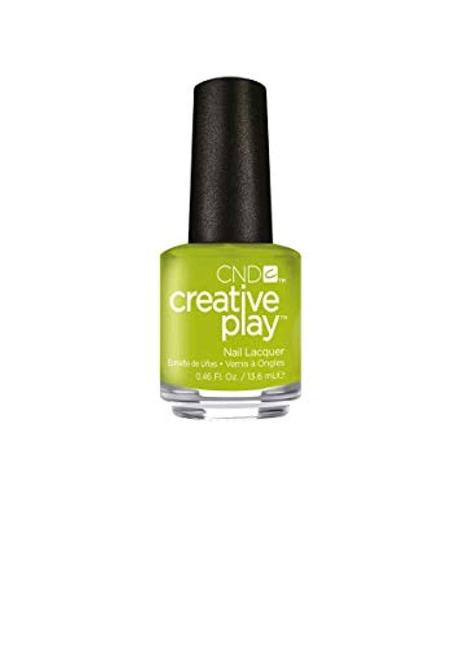 ミシン炎上涙が出るCND Creative Play Lacquer - Toe the Lime - 0.46oz / 13.6ml