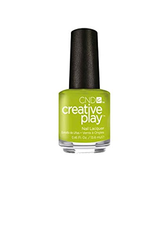 バックアップ高齢者負CND Creative Play Lacquer - Toe the Lime - 0.46oz / 13.6ml