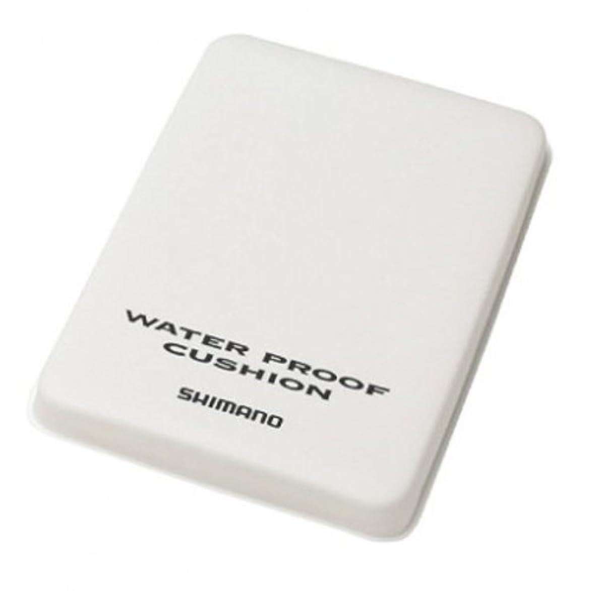 独占兄弟愛僕のシマノ 防水クッション ZB-051G S ホワイト 975874