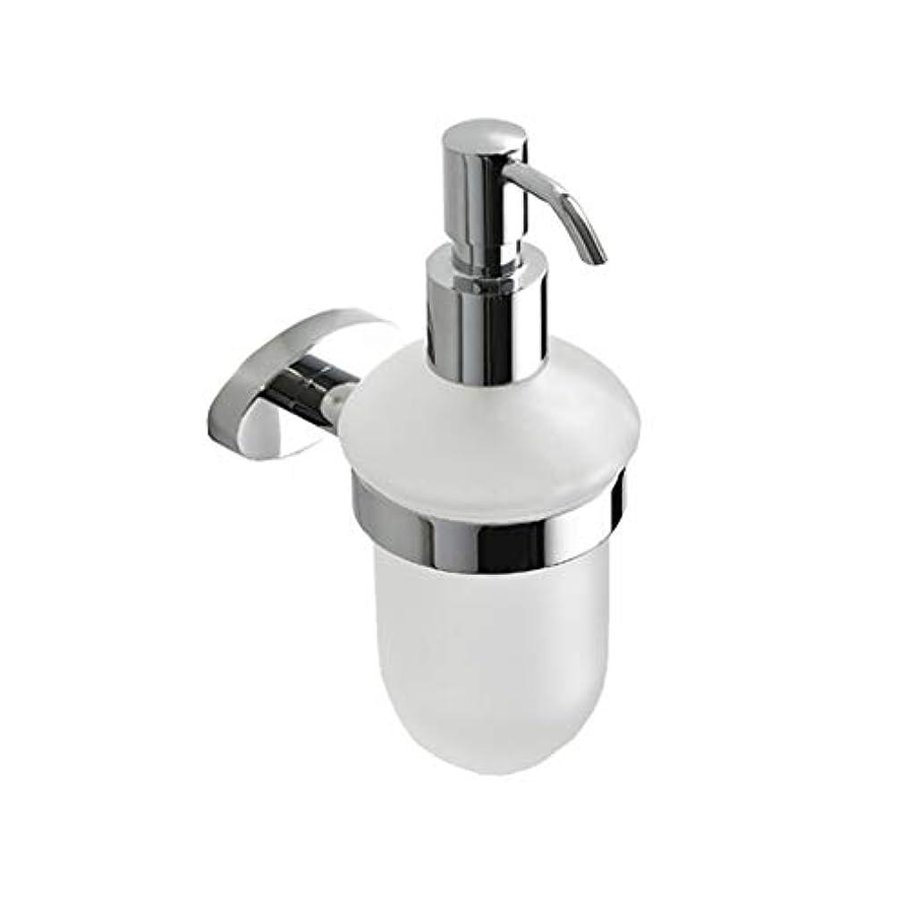 騒々しいサポートセラフKylinssh エッセンシャルオイル、ローション、液体石鹸に適した壁マウントプラスチック石鹸ディスペンサー、ステンレス鋼ポンプ付きハンドソープディスペンサー、