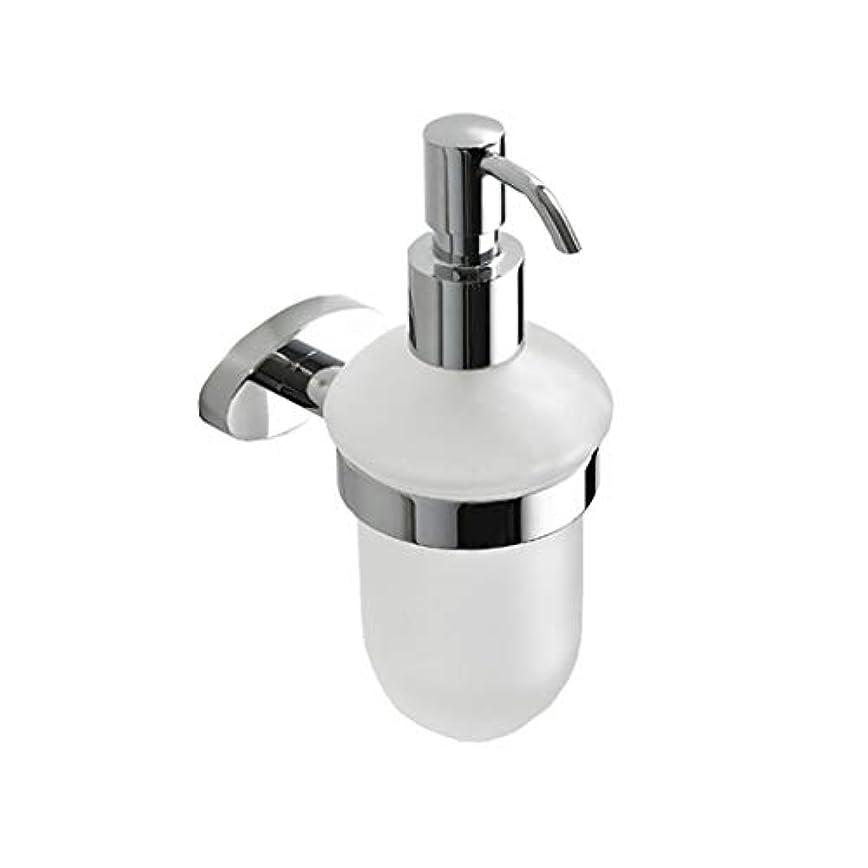 Kylinssh エッセンシャルオイル、ローション、液体石鹸に適した壁マウントプラスチック石鹸ディスペンサー、ステンレス鋼ポンプ付きハンドソープディスペンサー、