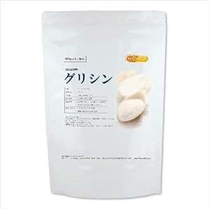 グリシン 950g (glycine) 国内製造品 【付属スプーン】 [01] NICHIGA(ニチガ)