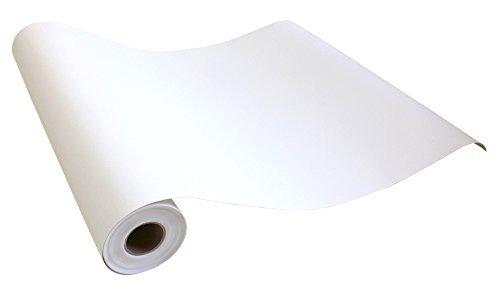 はがせるシール壁紙 無地 白 シンプル おしゃれな壁紙 50cm幅 Hyundae Sheet 賃貸もDIY 防水・防汚 (5mパック, 32●GP-11180 ナチュラルホワイト)