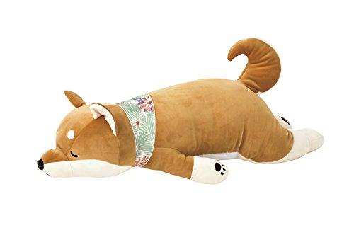 りぶはあと 抱き枕 柴犬のコタロウ W73xD32xH18cm プレミアムねむねむアニマルズクール 58016-44