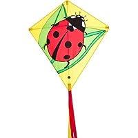 HQ Kites Eddy Ladybug 27' Diamond Kite おもちゃ [並行輸入品]
