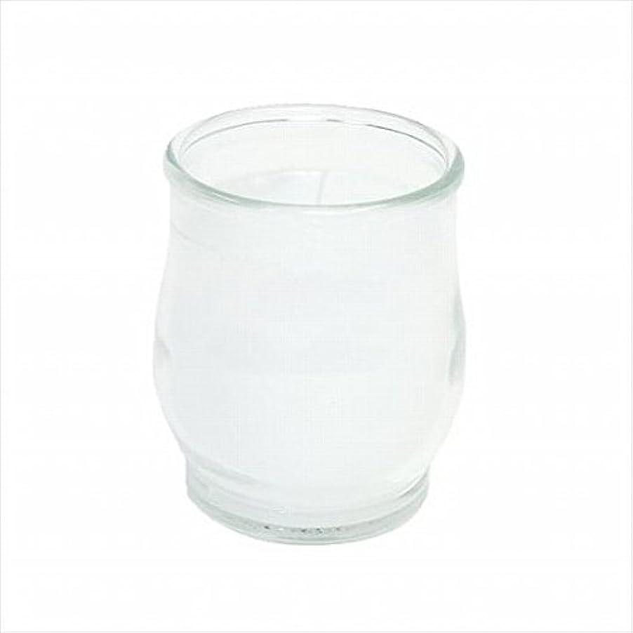 不当真珠のような満員kameyama candle(カメヤマキャンドル) ポシェ(非常用コップローソク) 「 クリア 」 キャンドル 68x68x80mm (73020000C)