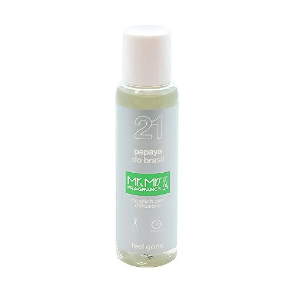 ピッチインデックス終わりMr&Mrs(ミスターアンドミセス)easy fragrance 21 パパイヤ リフィル 100ml