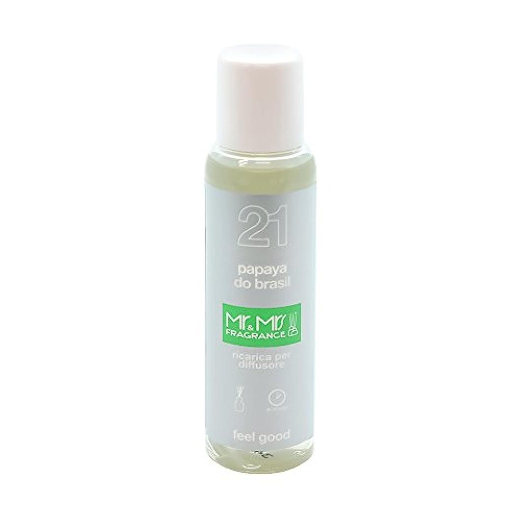 パーセントセールスマン鰐Mr&Mrs(ミスターアンドミセス)easy fragrance 21 パパイヤ リフィル 100ml