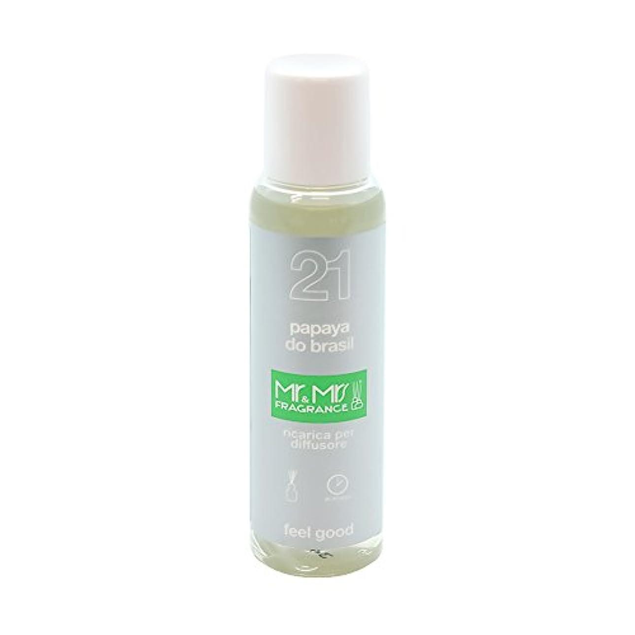 有名人のれん合体Mr&Mrs(ミスターアンドミセス)easy fragrance 21 パパイヤ リフィル 100ml