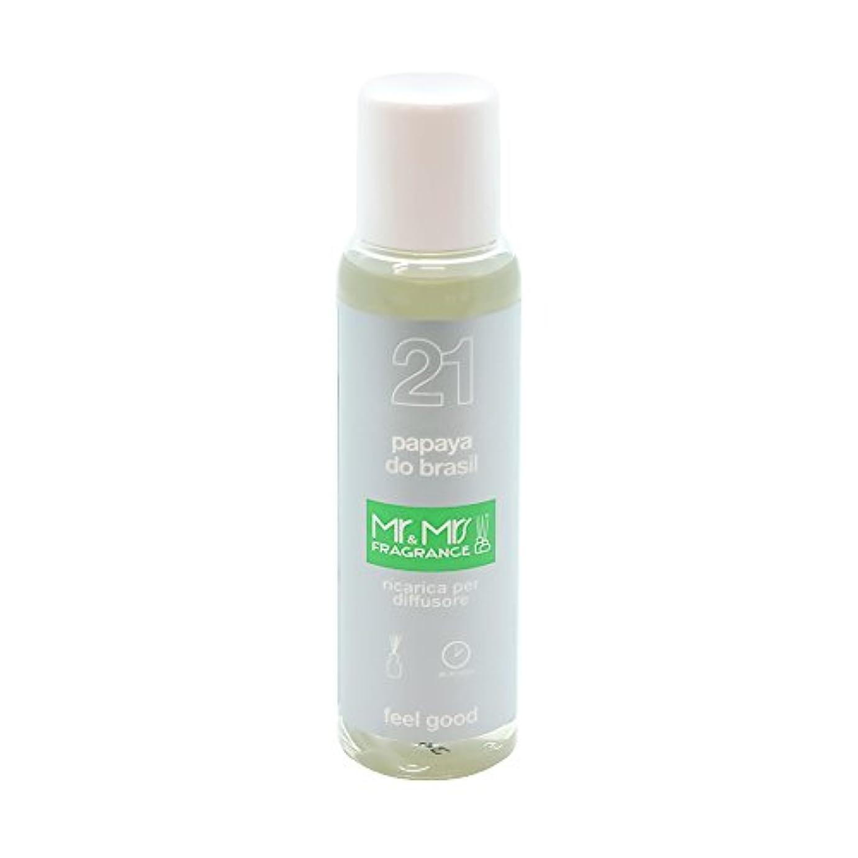 無秩序ハブブ言及するMr&Mrs(ミスターアンドミセス)easy fragrance 21 パパイヤ リフィル 100ml
