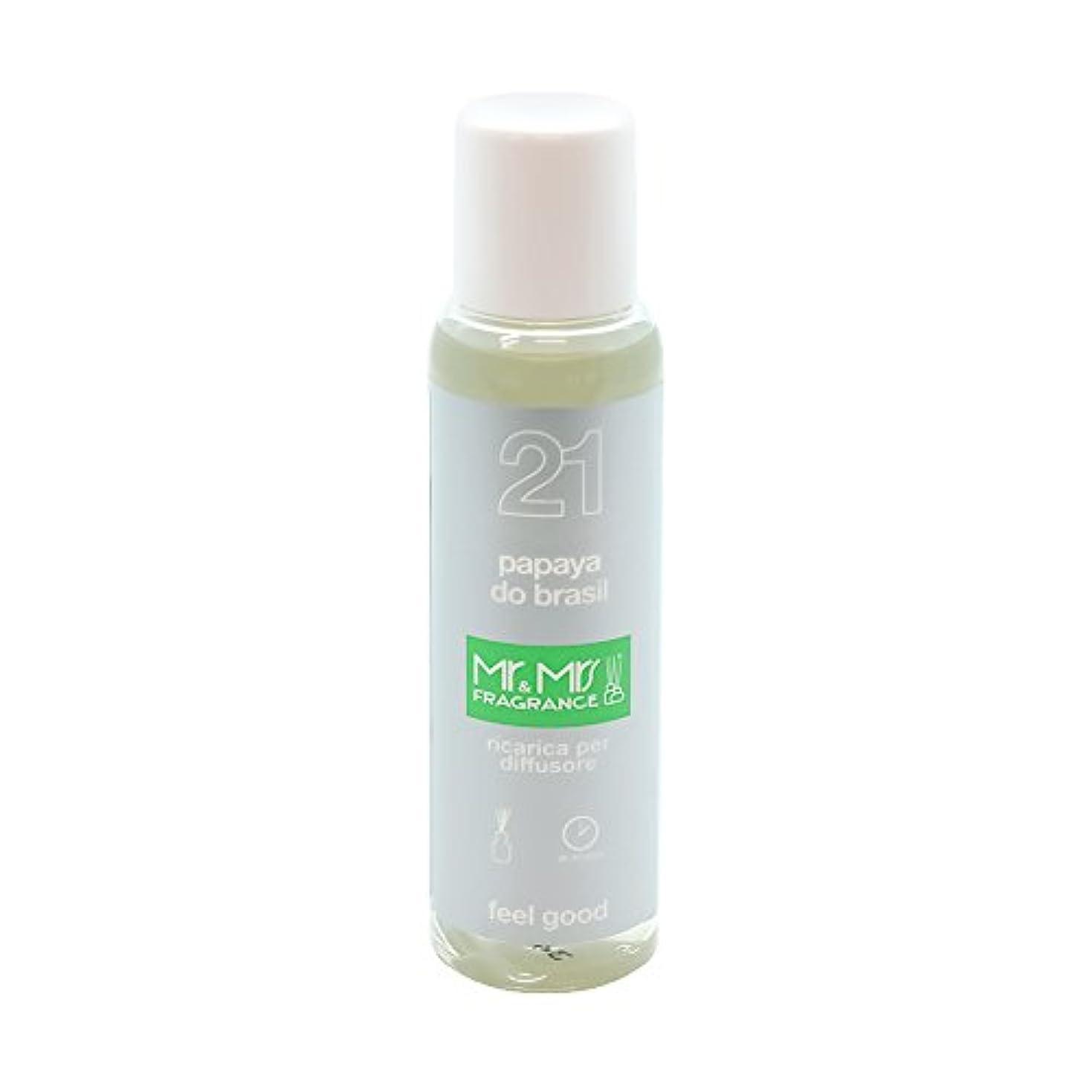 ローマ人ローマ人ローマ人Mr&Mrs(ミスターアンドミセス)easy fragrance 21 パパイヤ リフィル 100ml