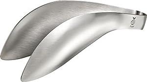 全長147×H45mm 指の延長のように使えるトングです。やわらかなバネでつかみやすく、油っぽいものやにおいの強いもの熱いものなどにお使いください。手を洗う回数が減るので、調理がスムーズになり手荒れも防ぐことができます。ネイルをしている方にもおすすめです。