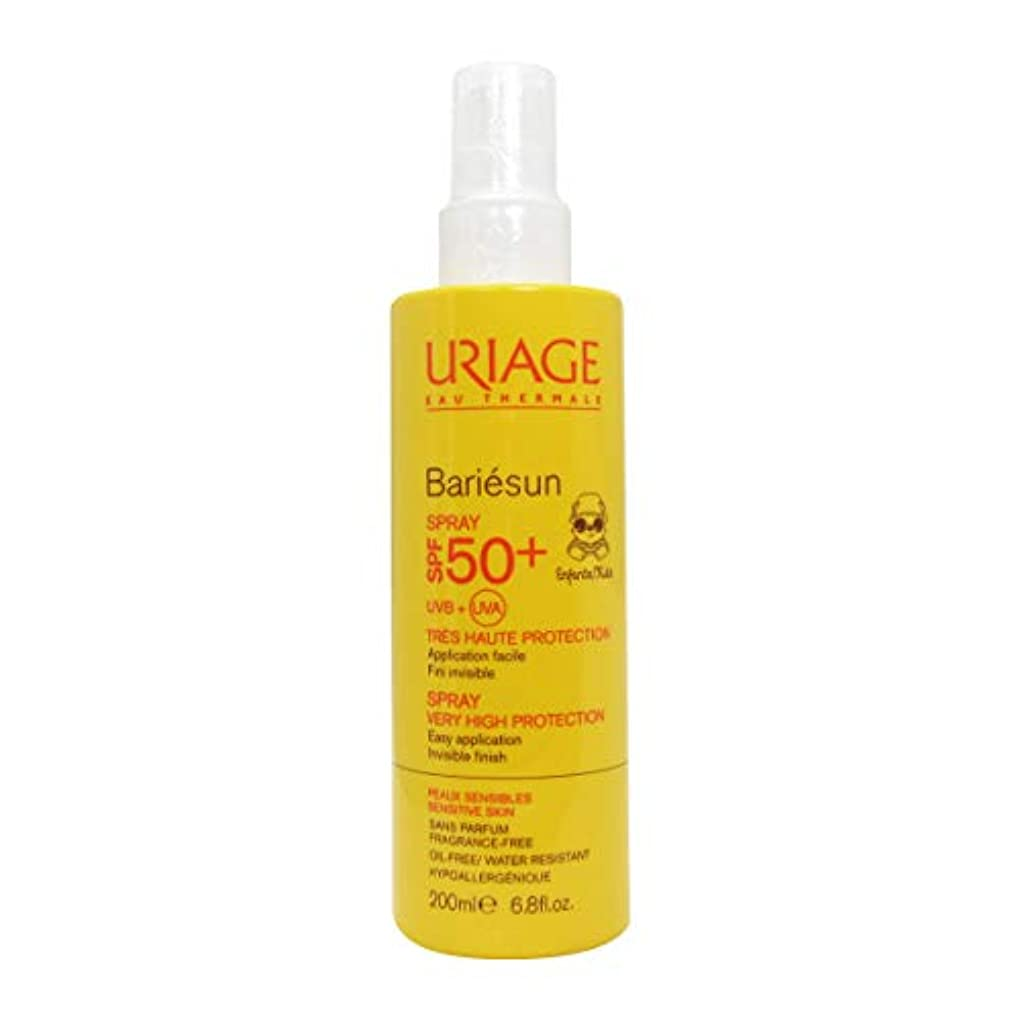 愚かとげ汚いUriage Bariesun Spray Children Spf50+ 200ml [並行輸入品]
