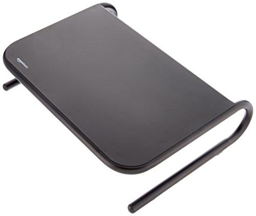 Amazonベーシック 金属モニタースタンド - ブラック