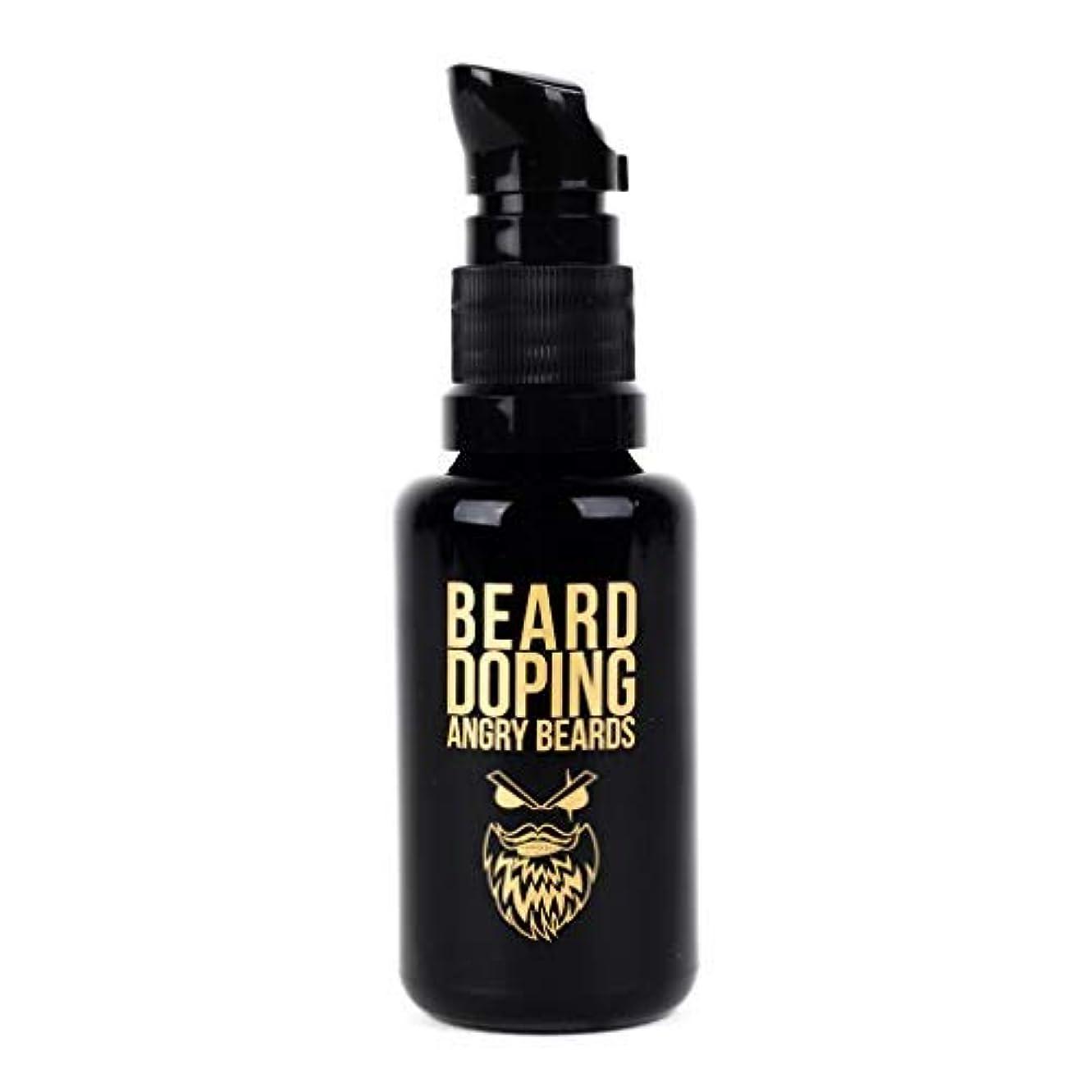 サワー出身地古風なBeard Doping for Growth by Angry Beards 30ml Made in Czech Republic / 成長のためのひげドーピング怒っているひげ30mlチェコ共和国製