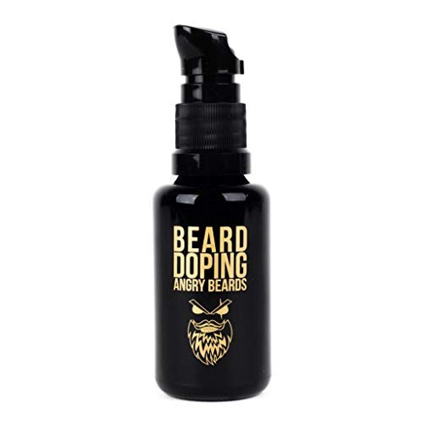 塩辛い従事したこどもの日Beard Doping for Growth by Angry Beards 30ml Made in Czech Republic / 成長のためのひげドーピング怒っているひげ30mlチェコ共和国製