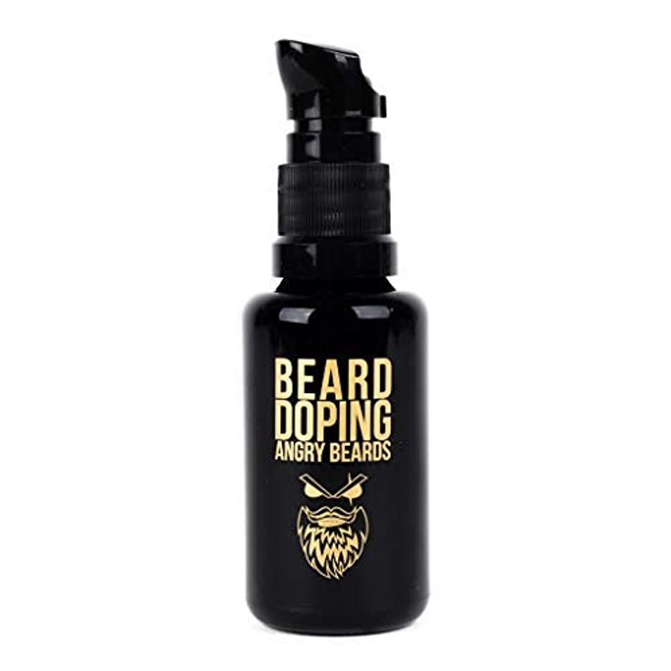 不快な強打元に戻すBeard Doping for Growth by Angry Beards 30ml Made in Czech Republic / 成長のためのひげドーピング怒っているひげ30mlチェコ共和国製