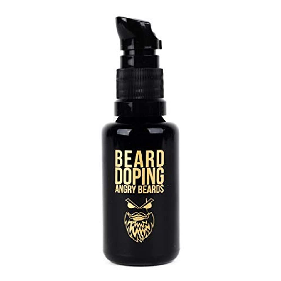 密接に母性急襲Beard Doping for Growth by Angry Beards 30ml Made in Czech Republic / 成長のためのひげドーピング怒っているひげ30mlチェコ共和国製