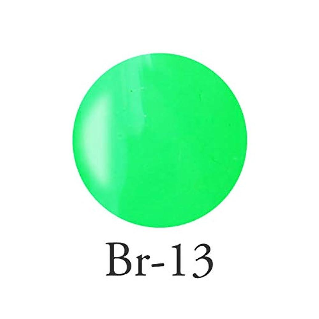 ショッキングカポック異議エンジェル クィーンカラージェル レオノールグリーン Br-13 3g