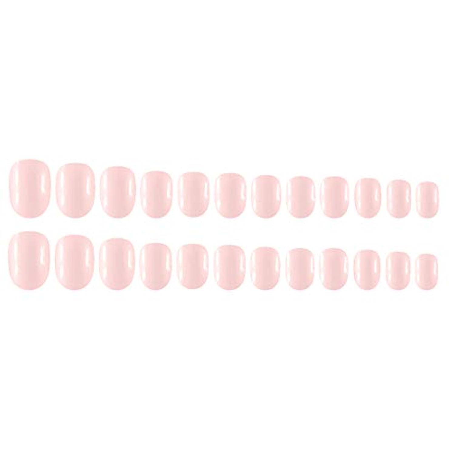 選挙目の前のバッテリーDecdeal Decdeal ネイルチップ 24ピース 12異なるサイズ diy サロン ネイルアートツール 偽