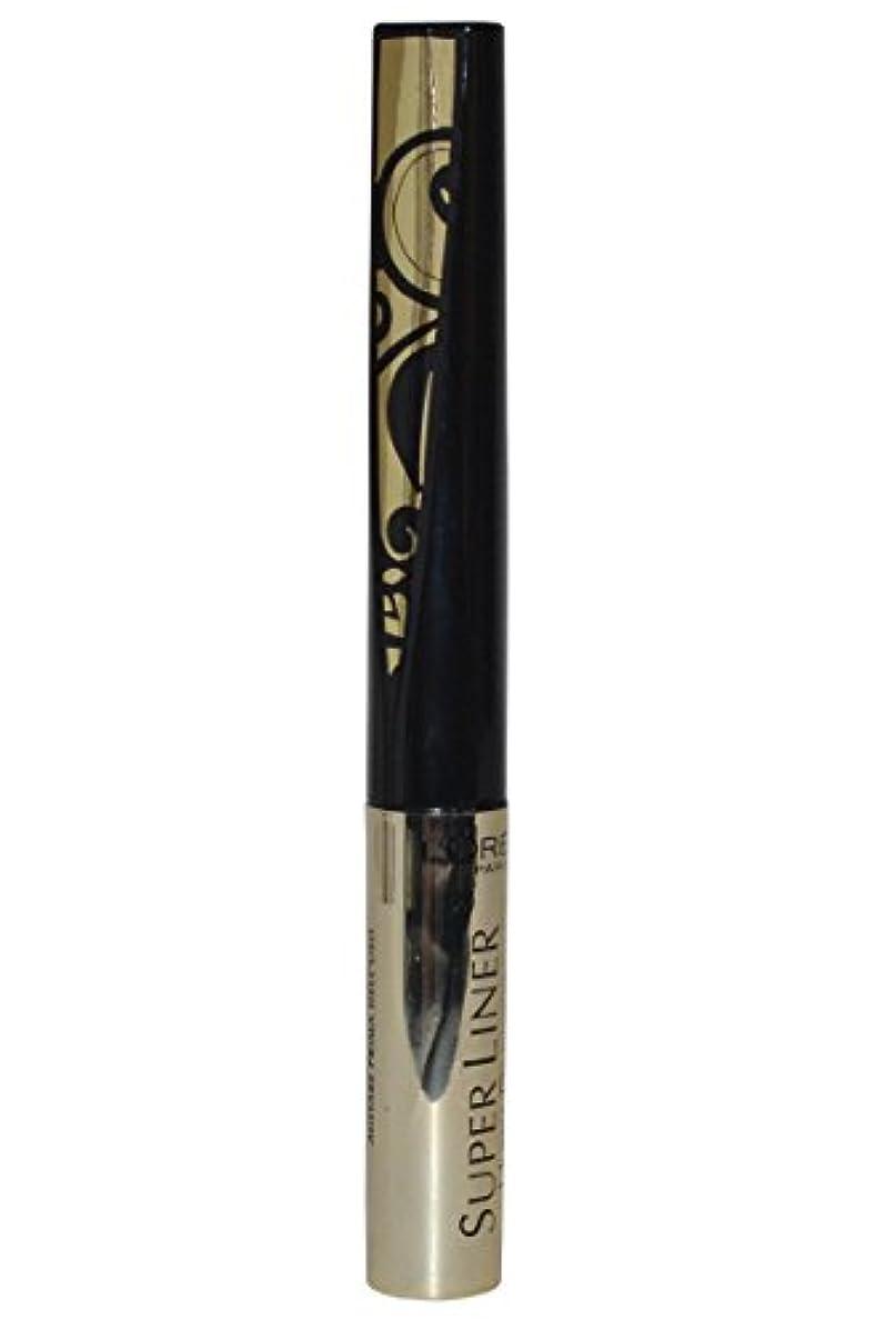 相互接続激怒くるくるL'Oréal Paris Super Liner Ultra Precision Farbe: Gold/Schwarz Inhalt: 1,5ml Liquid Eyeliner für einen unvergesslich...
