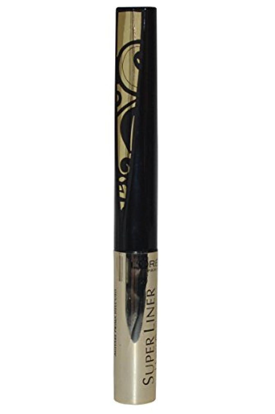 キリンの描くL'Oréal Paris Super Liner Ultra Precision Farbe: Gold/Schwarz Inhalt: 1,5ml Liquid Eyeliner für einen unvergesslich...