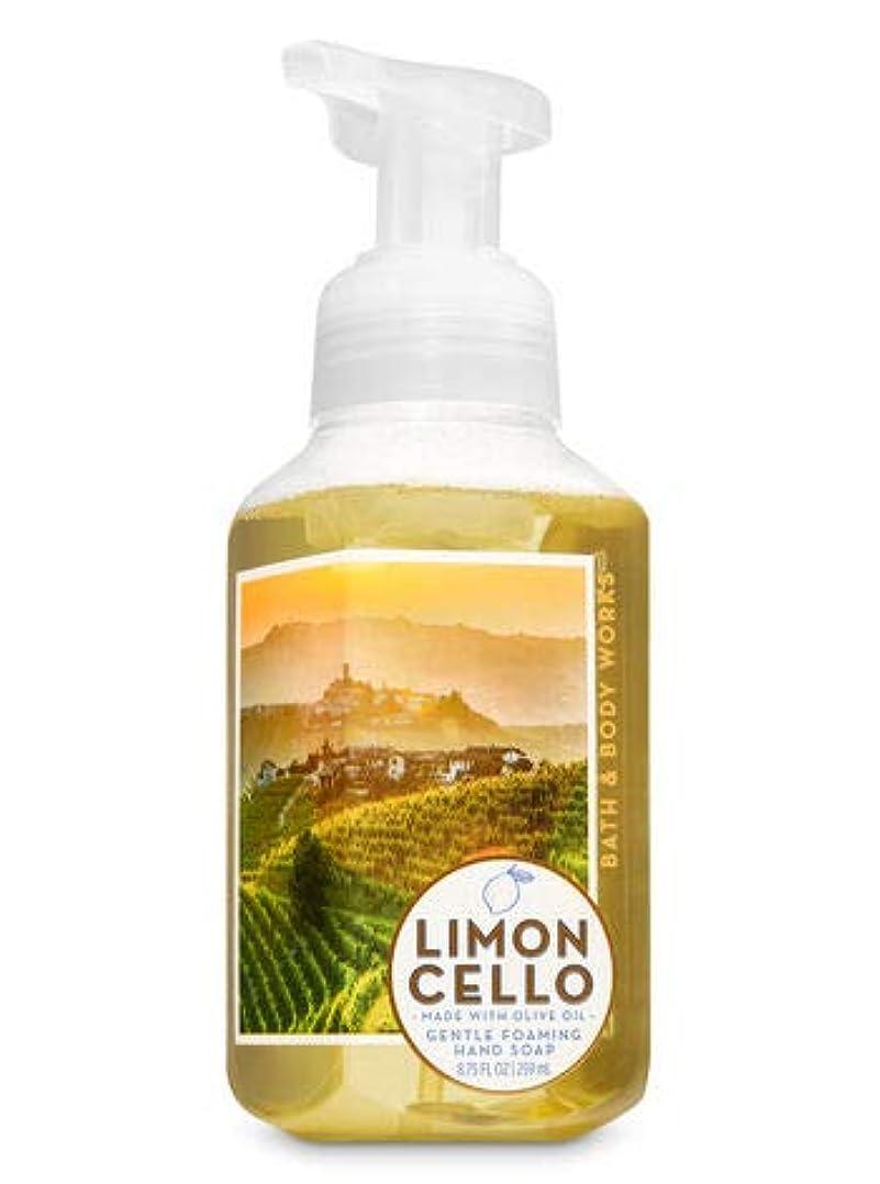 嘆く数咳バス&ボディワークス リモンチェッロ ジェントル フォーミング ハンドソープ Limoncello Gentle Foaming Hand Soap