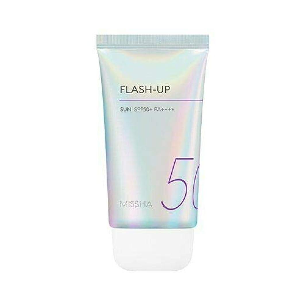 順応性のあるモトリー保持MISSHA ミシャ Flash-Up Sun 50ml SPF50+/PA++++ 韓国日焼け止め